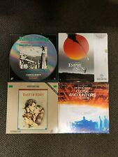 Laserdisc Movies-King Kong Empire Sun East Eden Close Encounters - Lot of 4