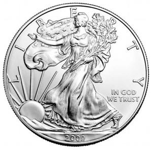 2009 AMERICAN EAGLE WALKING LIBERTY 1oz Silver Coin