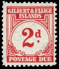 "GILBERT & ELLICE J2 (SG D2) - Numeral of Value ""Postage Due"" (pf31943)"