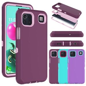 For LG K92 5G Phone Case Shockproof Full Body Protective Armor Impact Hard Cover