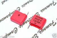 10pcs - WIMA MKS4 1uF (1µF) 100V 5% pich:10mm Polyester Film Capacitor