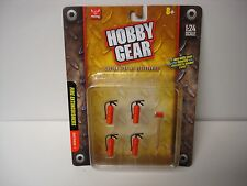 Fire Extinguishers - Hobby Gear - 1/10, 1/18, 1/24 & G Scale - by PHOENIX TOYS
