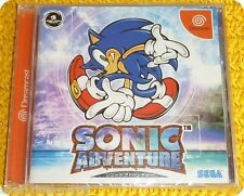 Sonic Adventure videogame NTSC/J Sega Dreamcast