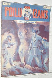 N°43 UN POILU DE 12 ANS  ARNOULD GALOPIN 1929