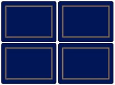 Pimpernel Classic Midnight Blue Placemats - Set of 4