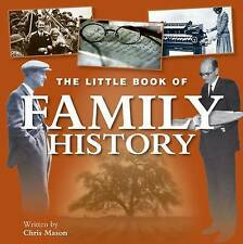 Little Book of Family History, New, Chris Mason Book