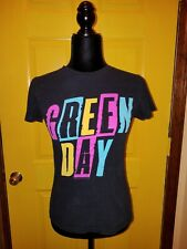 Vintage Women's Green Day T Shirt Punk Rock Sz.M Fitted