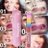 Matte To Glitter Liquid Lipstick Chameleon Gold Metal Lip Gloss Long Lasting