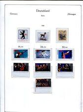 Berlin 1975 - 1990 ** in KABE Vordruckalbum