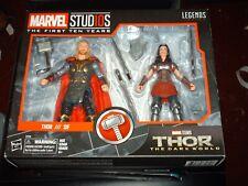 Marvel Legends Thor Ragnarok & sif 2 Pack Hasbro, New