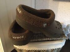 Crocs Winter Fell warm Gr. M 4 W 6 ca. Gr. 35/36 in Braun  Top look
