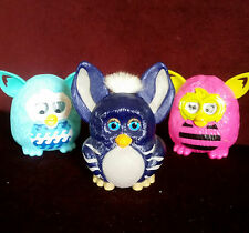 "(2) McDonald's (1) Burger King ""Furby Boom"" Happy Meal Toys"