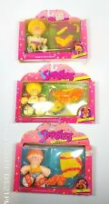 Fisher Price 1987 set of 3 Smooshees in box Tim Charly Seth