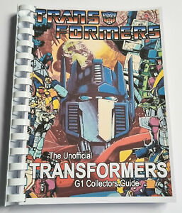 100% Unofficial Transformers G1 Collectors Guide