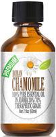 Roman Chamomile Essential Oil (100% Pure & Natural) in Jojoba + Euro Dropper