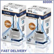 2 x D1S NEUF LUNEX XENON HID AMPOULE LAMPS compatible avec 66043 66144 85410 UB