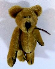 "Boyds Bears Plush ""Kelly O Beary"" 6.75"" Teddy Bear Jointed Beige"