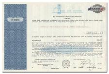 Suave Shoe Corporation Stock Certificate