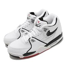 Nike Air Flight 89 White Black Grey Red Men Basketball Lifestyle Shoe DB5918-100