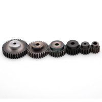 1.5Mod 13T 45#Steel Motor Spur Pinion Gear Outer Dia 22.5mm Thickness 15mm x1Pcs