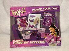 NEW Bratz Design Your Own - Custom Designer Handbag Iron-ons, Glitter, Sew