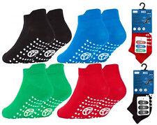 3 Pairs Boys Socks Kids Gripper Trainer Socks Sports Liners Trampoline Non Slip