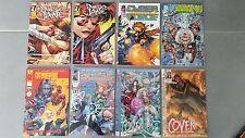 Lot de 8 comics DIVERS dont certains des numéro 1