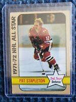 1972-73 - 1971-72 NHL ALL STAR 2ND TEAM Pat Stapleton Chicago Blackhawks #129
