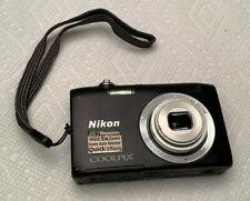 Nikon CoolPix S2900 20.1 Megapixels Digital CAMERA (NO BATTERY) - LENS PROBLEM