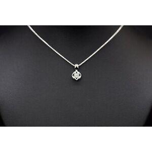 Bella Luce Halskette mit Diamantanhänger aus 585er Weißgold - 0.20 ct.