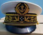 french navy general visor cap