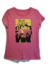 New Grease Pink Ladies Juniors Size Medium 70s Cult Classic Movie T-shirt