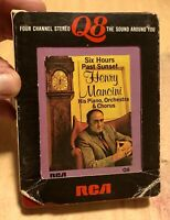 Henry Mancini - Six Hours Past Sunset, (4 Channel, Q8), 8 Track Tape