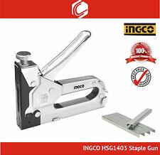 INGCO HSG1403 Staple Gun Size 4-14mm - Free 10mm staples 2000pcs