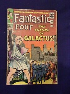 Fantastic Four #48 First Appearance of Silver Surfer & Galactus  KEY Take A Look