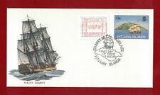 1986 Pitcairn Island H.M.A.V. Bounty Frama First Day Cover