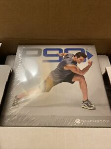P90 BeachBody COMPLETE DVD SET with Workout Bands - Let's Hit It Brand New