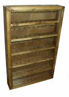 Vetrina portapipe in legno 66 posti antiscivolo pipa parete espositore bacheca