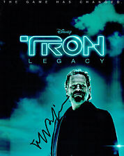 Jeff BRIDGES SIGNED Autograph 10x8 Photo AFTAL COA Disney TRON Legacy