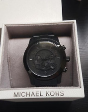 Michael Kors Runway Black Chronograph Watch MK8157