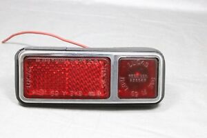 1974 Jensen Interceptor Side Marker Light assembly Red/Red--Much more