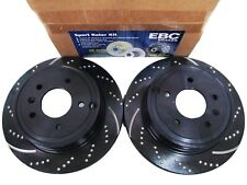 EBC 3GD DRILLED & SLOTTED SPORT BRAKE ROTORS - FRONT