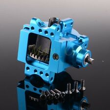 Aluminu Front/Rear Gear Box Complete 06063/06064 For RC 1/10 HSP RedCat Blue