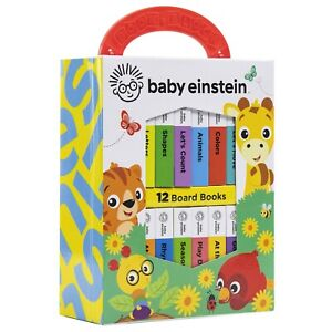 Baby Einstein My First Library 12 Board Books Collection by PI Kids