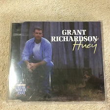 Grant Richardson - Huey CD Single _ABC Music, EMI _Toyota Star Maker 2000_ VGC.