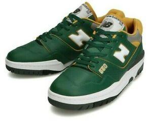 New Balance BB550 MM1 BB550MM1 Green Yellow Badketball Shoes Reproduction