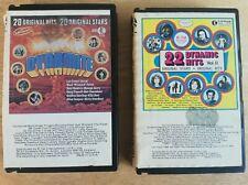 Dynamite 20 original Hits & 22 Dynamic Hits Vol 2 Cassette Tapes x 2