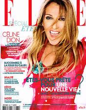 ELLE France 05 August 2016 CELINE DION Matilda Dods VALENTINE BOUQUET @New@