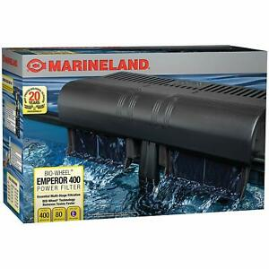 Marineland Emperor Power Filter Pro Series Habitat 400 (400 GPH Up 80 Gallon)...