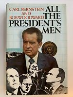 All the President's Men by Carl Bernstein and Bob Woodward, 1st Edition, 1974